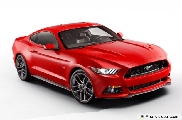 2015 Ford Mustang Front Three Quarters