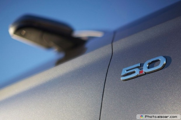 2015 Ford Mustang Gt Convertible Badge And Sideview Mirror