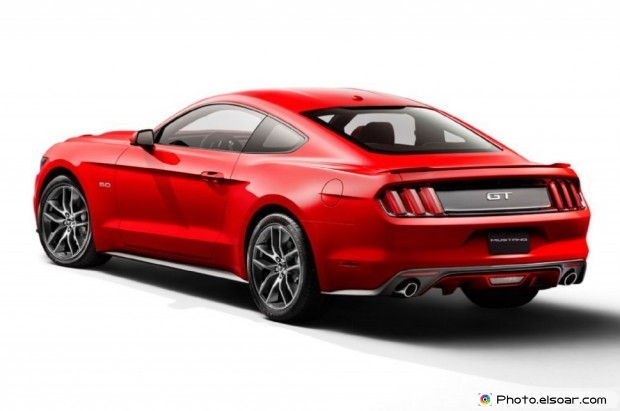 2015 Ford Mustang Rear View