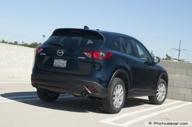 2015 Mazda Cx 5 Photo - Passenger Rear Three Quarters