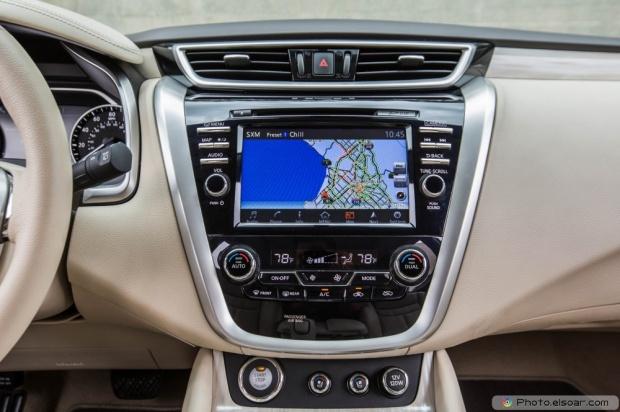 2015 Nissan Murano Platinum Fwd Center Stack