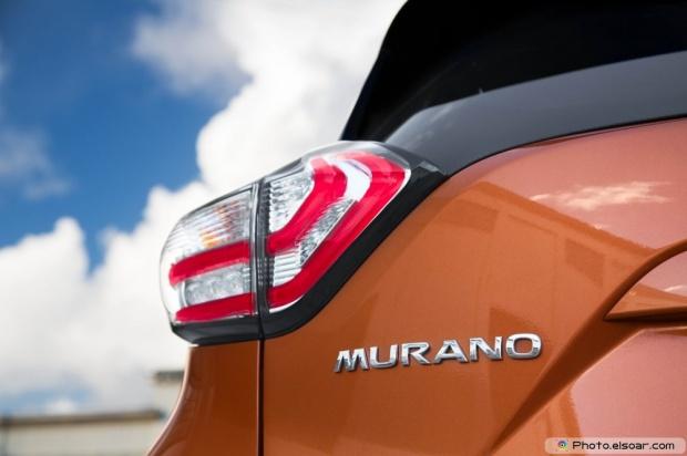 2015 Nissan Murano Platinum Fwd Image - Rear Taillights