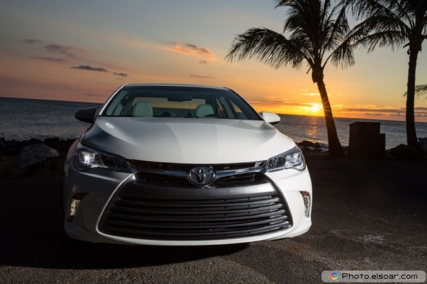 2015 Toyota Camry At Sunset
