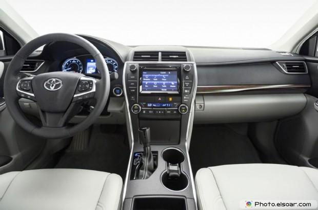 2015 Toyota Camry Xle Luxury Interior