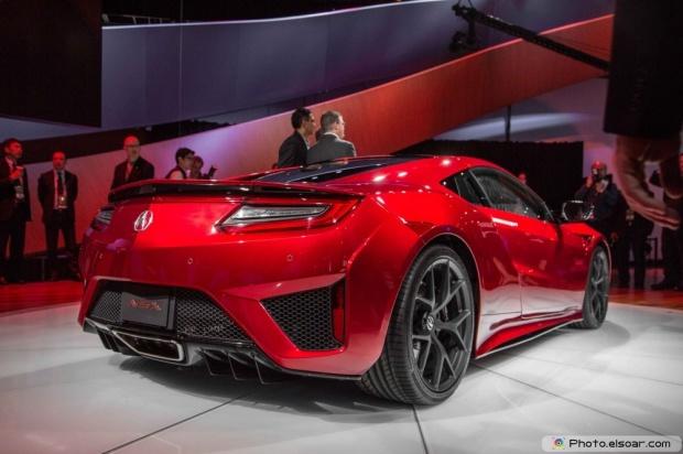 2016 Acura NSX Rear Three Quarter