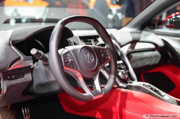 2016 Acura NSX Steering Wheel