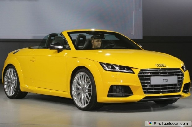 2016 Audi Tts Roadster Front Three Quarter View - Picture