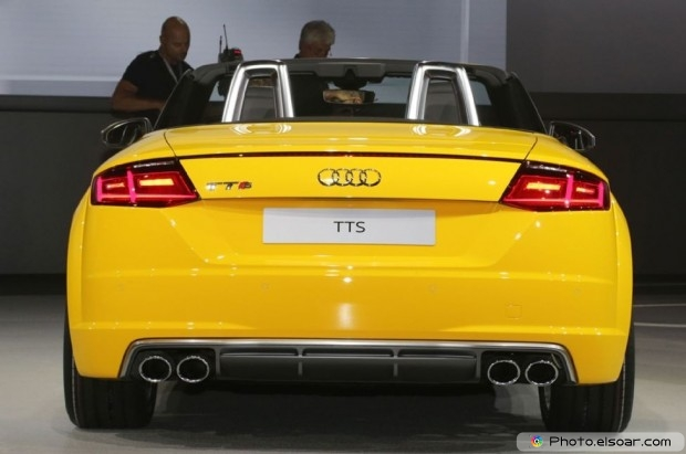 2016 Audi Tts Roadster Rear View
