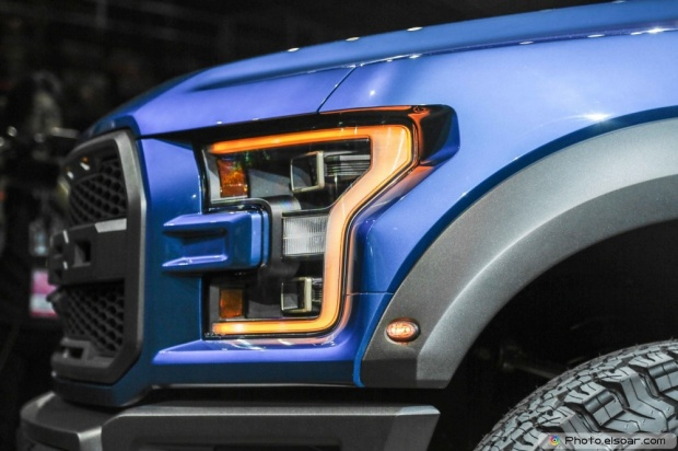2017 Ford F 150 Raptor Headlight
