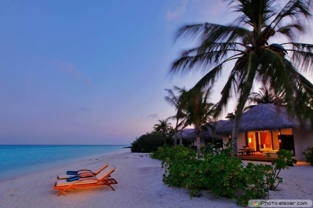A Girl Can Only Dream In Maldives