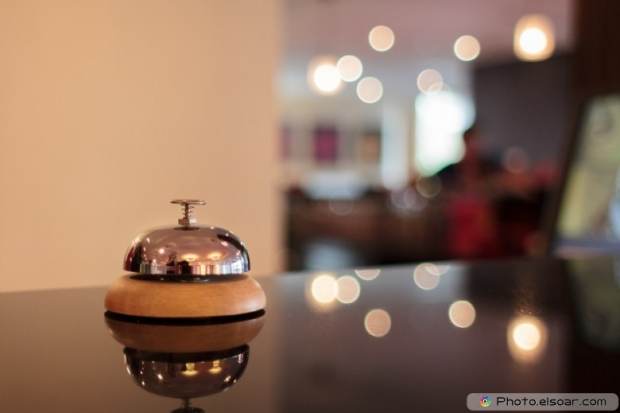 A Service Bell In A Hotel