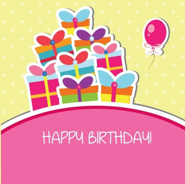 Adorable birthday celebration card