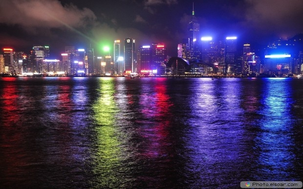 Amazing Cityscapes At Night HD Wallpaper