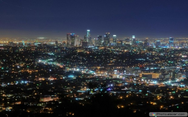 Amazing Free Cityscapes At Night HD Wallpaper