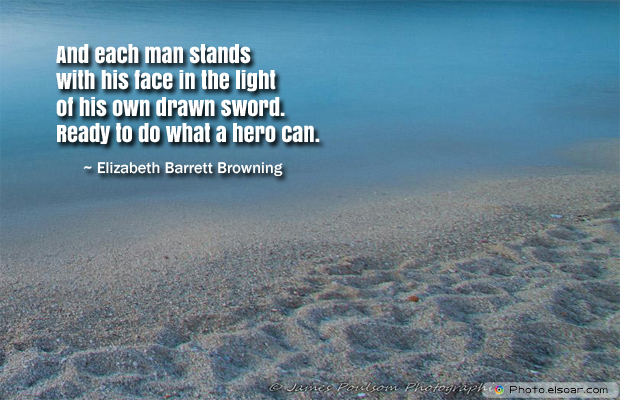 Armed Forces Day , And each man stands with his face in the light of his