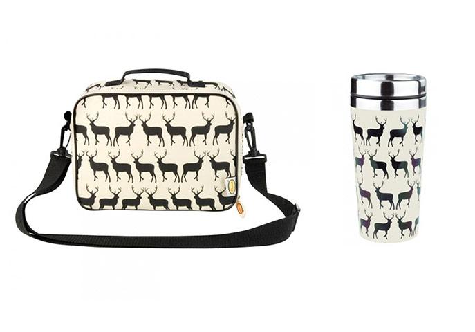 Anorak picnic bag and mug