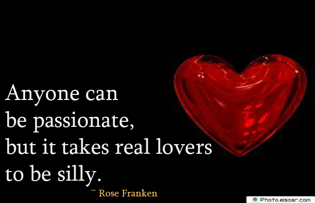 Anyone can be passionate