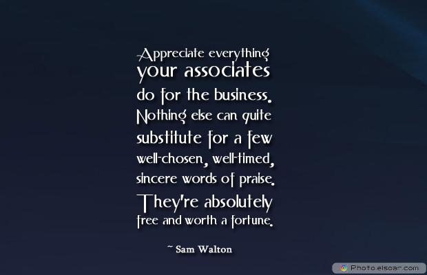 Admin Asst Day , Appreciate everything your associates do for the business.