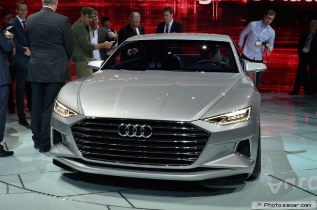 Audi Prologue Concept Front End