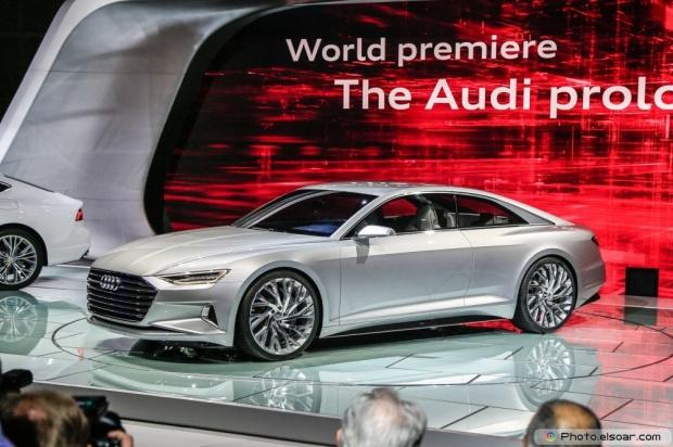 Audi Prologue Concept Front Three Quarter