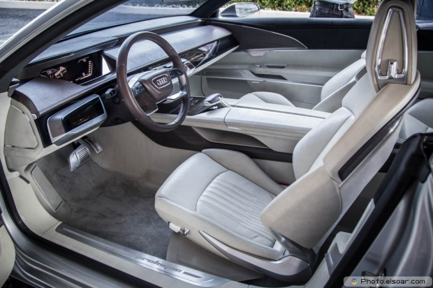 Audi Prologue Concept Interior View