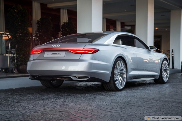 Audi Prologue Concept Rear Three Quarter
