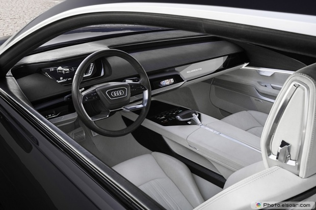 Audi Prologue Piloted Driving Concept Interior View