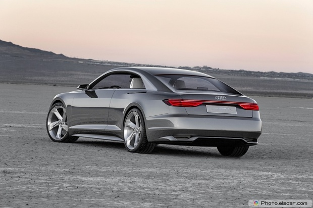 Audi Prologue Piloted Driving Concept Rear End