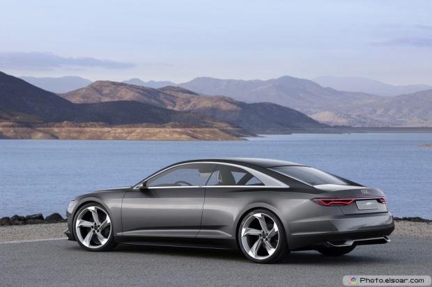 Audi Prologue Piloted Driving Concept Rear Three Quarter