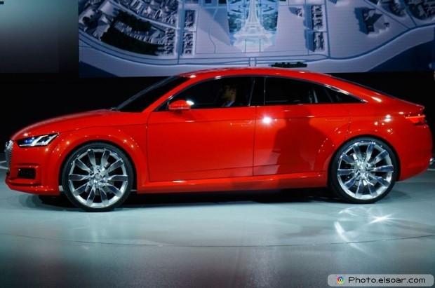 Audi Tt Sportback Concept Driver Profile