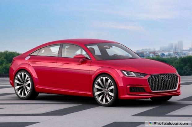 Audi Tt Sportback Concept Front Three Quarter View - Picture