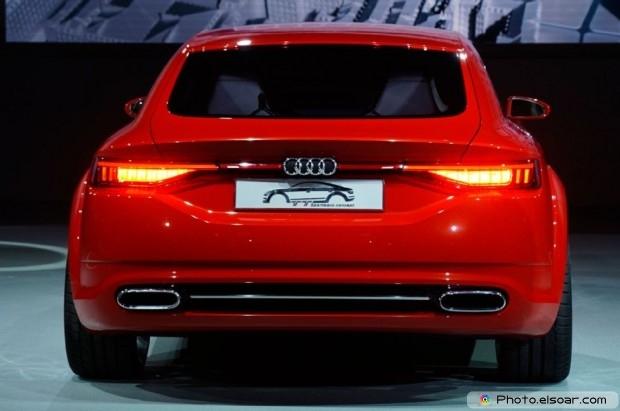 Audi Tt Sportback Concept Rear View