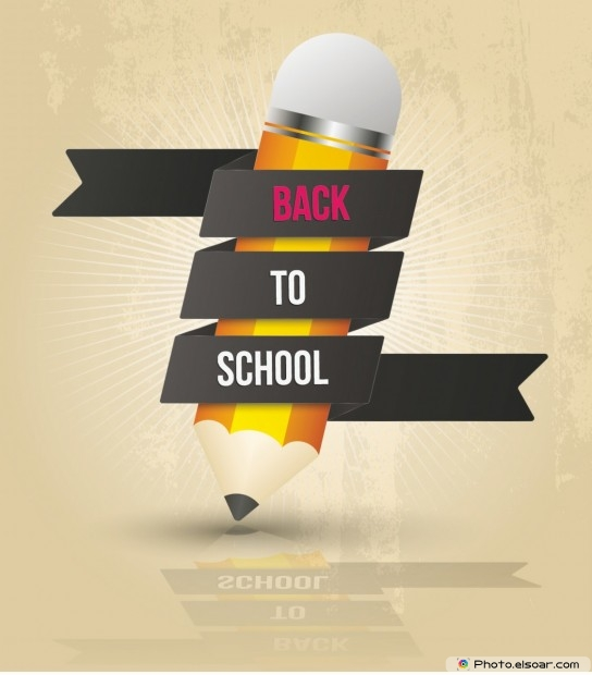 Back To School With Pencil