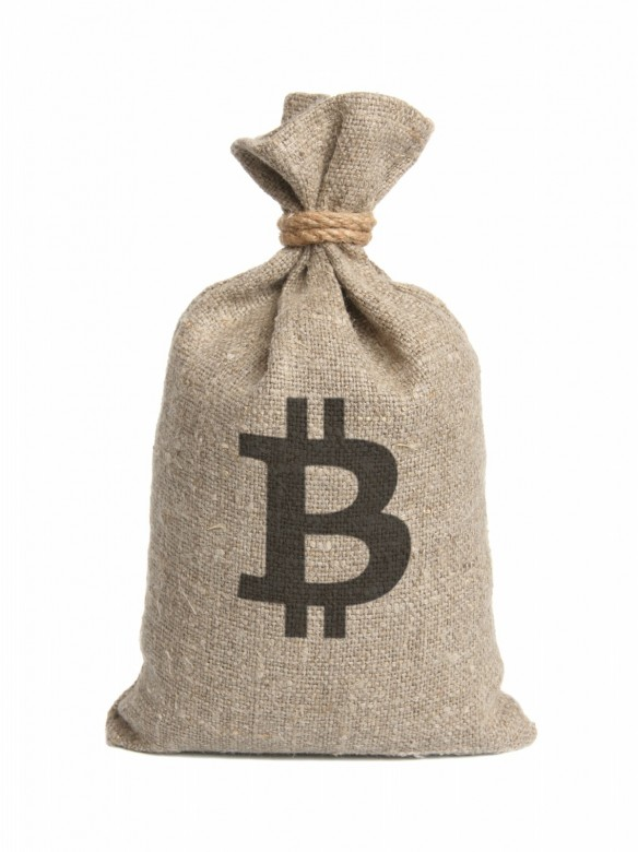 Bag from bitcoin