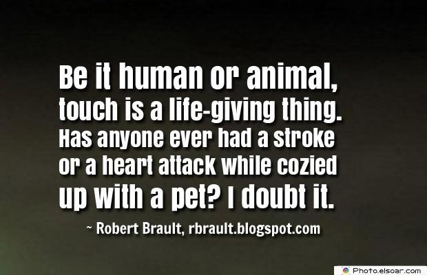 Be it human or animal