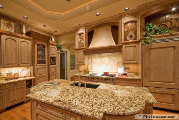 Beautiful Kitchen Inside Modern Home
