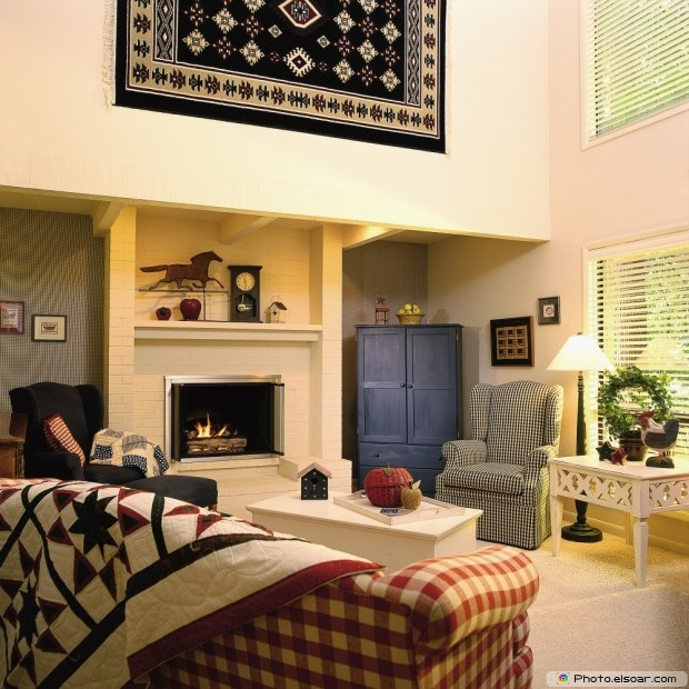 Beautiful Living Room Free Design Image