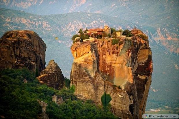 Beautiful Nature Of Meteora, Greece