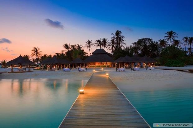 Beautiful Photo Of Romantic Maldives