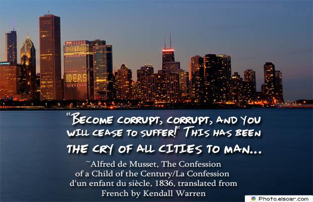 Become corrupt