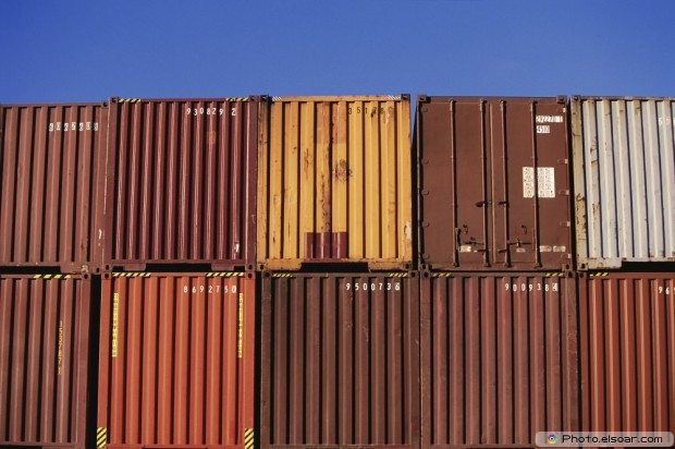 Big Cargo Containers