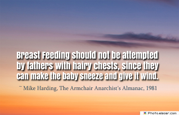 Breastfeeding Quotes , Breast Feeding should not be attempted