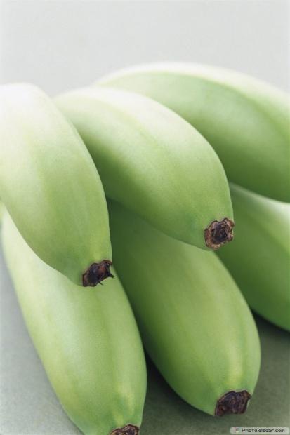 Bunch Of A Green Bananas