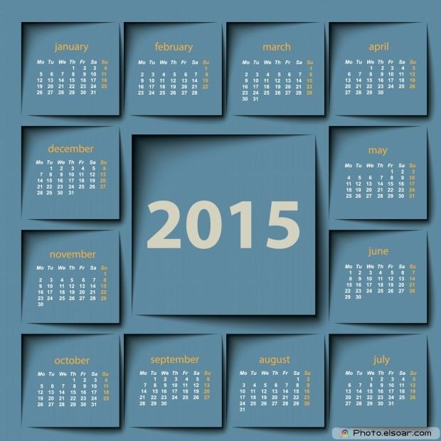 Calendar 2015 Office Planner