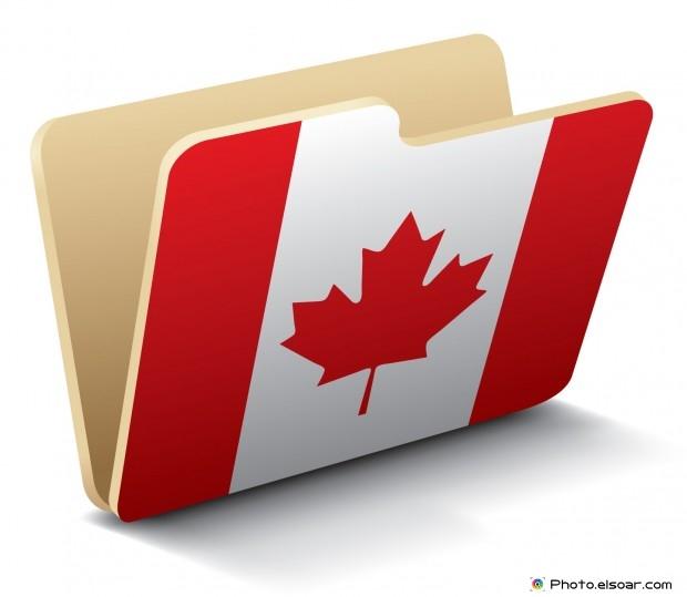 Canada Flag - Folder Icon