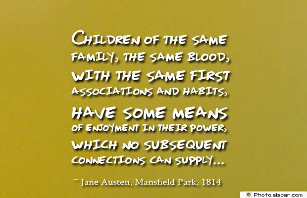 Quotes About Brothers , Children of the same family