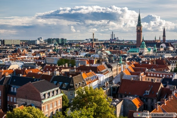 Cityscape Of Copenhagen