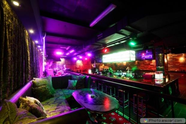 Clean luxury night club in european style