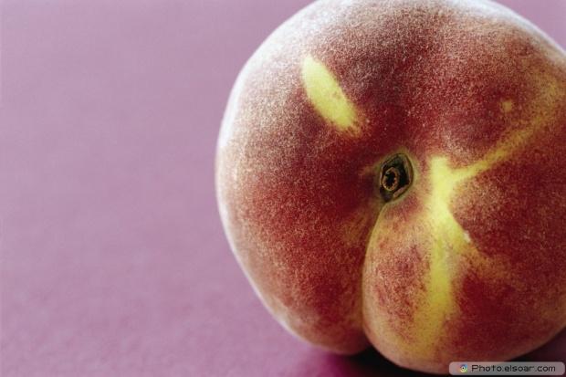 Close-Up Delicious Peach