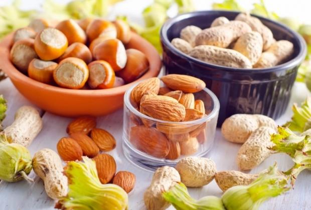 Closeup nuts
